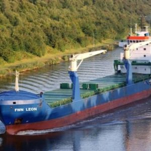 Forestwave single deck ship FWN Leon
